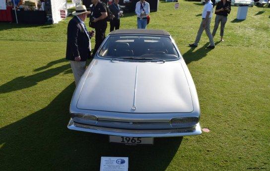1965 Volkswagen Karmann-Ghia Type 1 Concept - Amelia Concours 2019 6