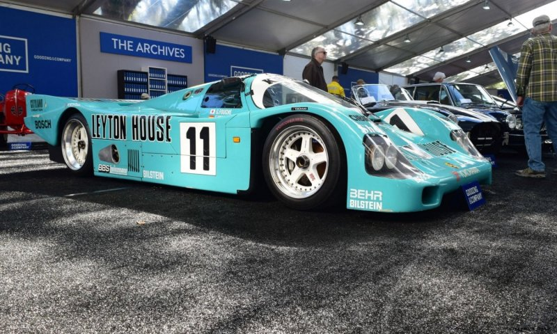 1987 Kremer Porsche 962C 4