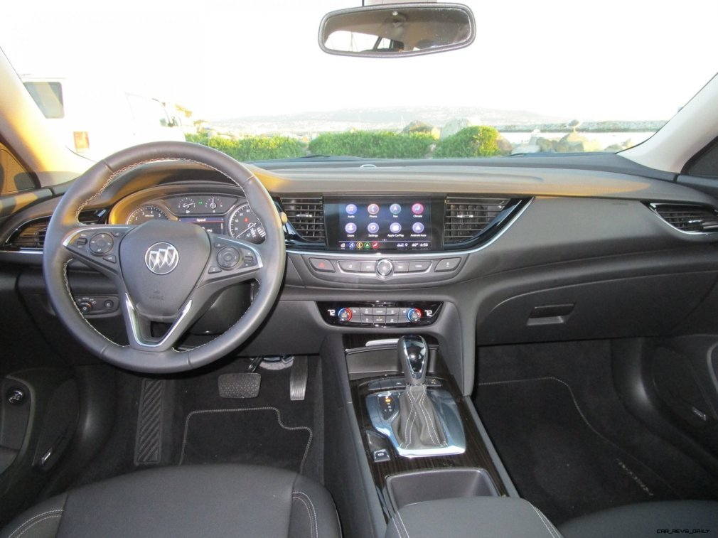 2019 Buick Regal TourX Essence AWD Interior Photos Ben Lewis 10