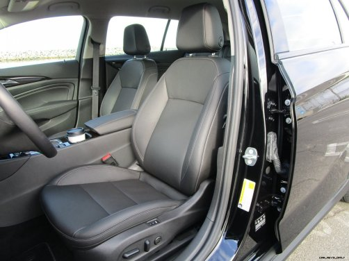 2019 Buick Regal TourX Essence AWD Interior Photos Ben Lewis 29
