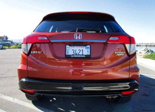 2019 Honda HR-V Sport AWD 10