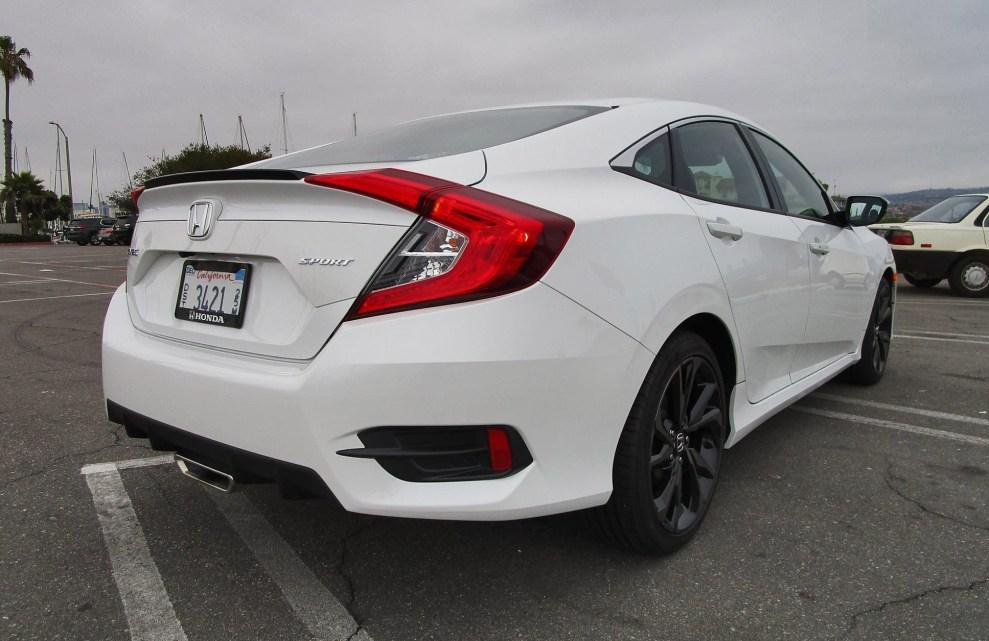 2019 Honda Civic Sport 4-Door 10