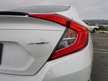 2019 Honda Civic Sport 4-Door 11