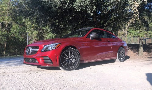 2019 Mercedes AMG C43 Coupe - Road Test Review - Burkart (24)