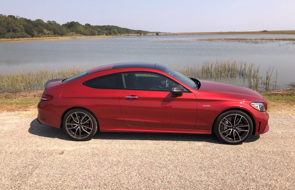 2019 Mercedes AMG C43 Coupe - Road Test Review - Burkart (55)