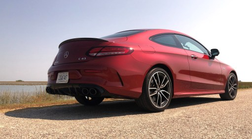 2019 Mercedes AMG C43 Coupe - Road Test Review - Burkart (65)