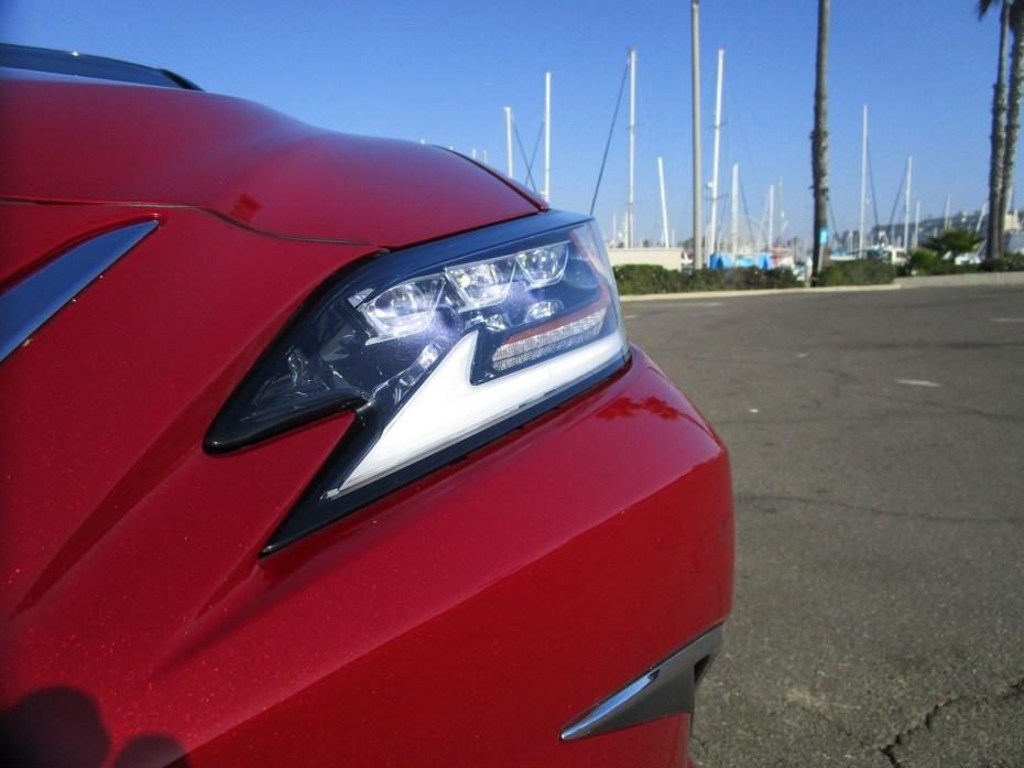 2019 Lexus ES350 Ultra Luxury Red (6)