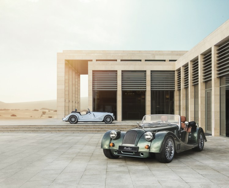 CURRENT Morgan Plus Six first editions, 2019