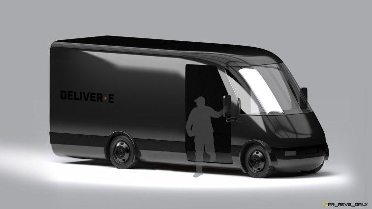 Bollinger Motors DELIVER-E Front 3.4 to Scale