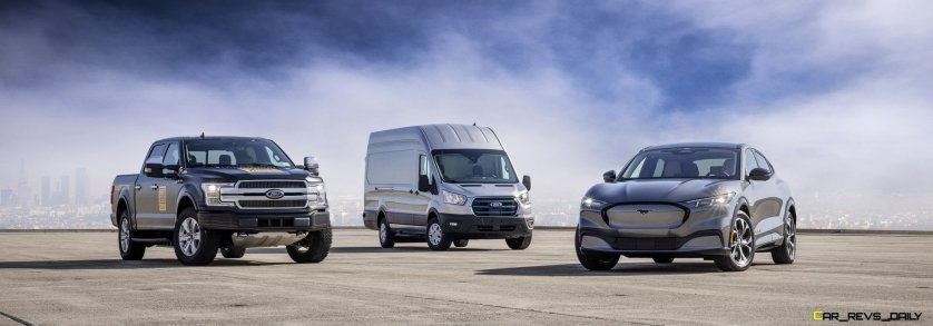 2022 Ford E-Transit_Mustang Mach-E_All-Electric F-150