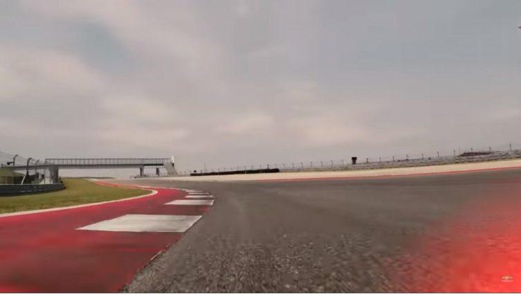 Corvette Z06 track image