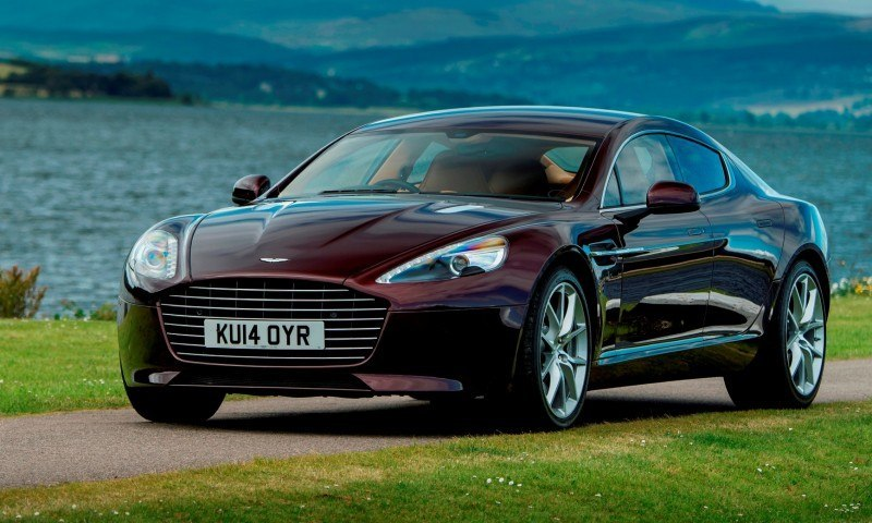 4.2s, 200-MPH 2015 Aston Martin RAPIDE S Also Nabs New Dampers, Torque-Tube and 8-Speed ZF Transaxle 137