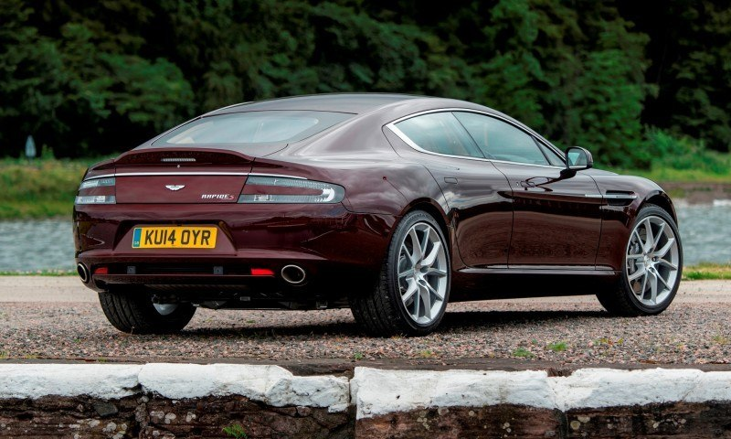4.2s, 200-MPH 2015 Aston Martin RAPIDE S Also Nabs New Dampers, Torque-Tube and 8-Speed ZF Transaxle 138