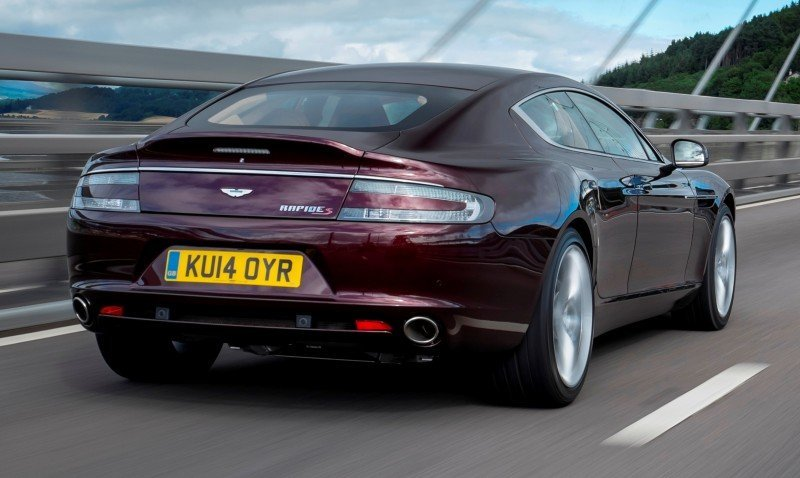 4.2s, 200-MPH 2015 Aston Martin RAPIDE S Also Nabs New Dampers, Torque-Tube and 8-Speed ZF Transaxle 140
