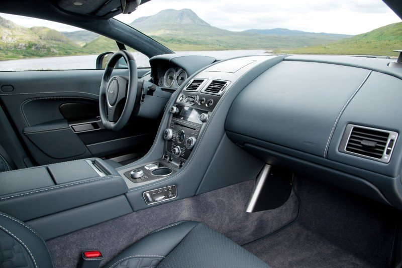 4.2s, 200-MPH 2015 Aston Martin RAPIDE S Also Nabs New Dampers, Torque-Tube and 8-Speed ZF Transaxle 158