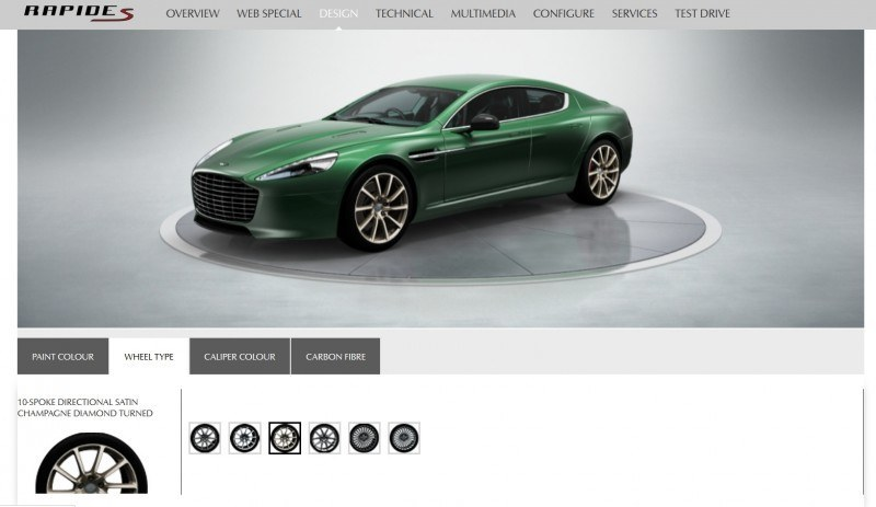 4.2s, 200-MPH 2015 Aston Martin RAPIDE S Also Nabs New Dampers, Torque-Tube and 8-Speed ZF Transaxle 16