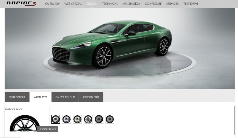4.2s, 200-MPH 2015 Aston Martin RAPIDE S Also Nabs New Dampers, Torque-Tube and 8-Speed ZF Transaxle 20
