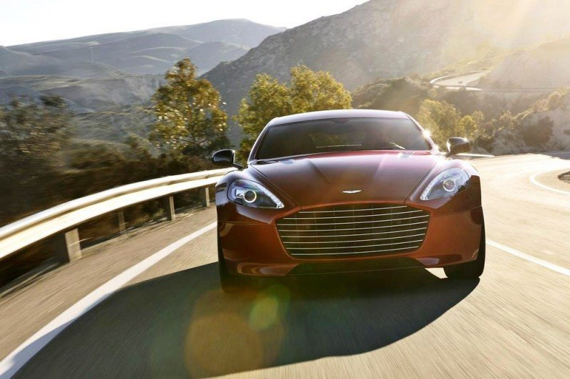 4.2s, 200-MPH 2015 Aston Martin RAPIDE S Also Nabs New Dampers, Torque-Tube and 8-Speed ZF Transaxle 205