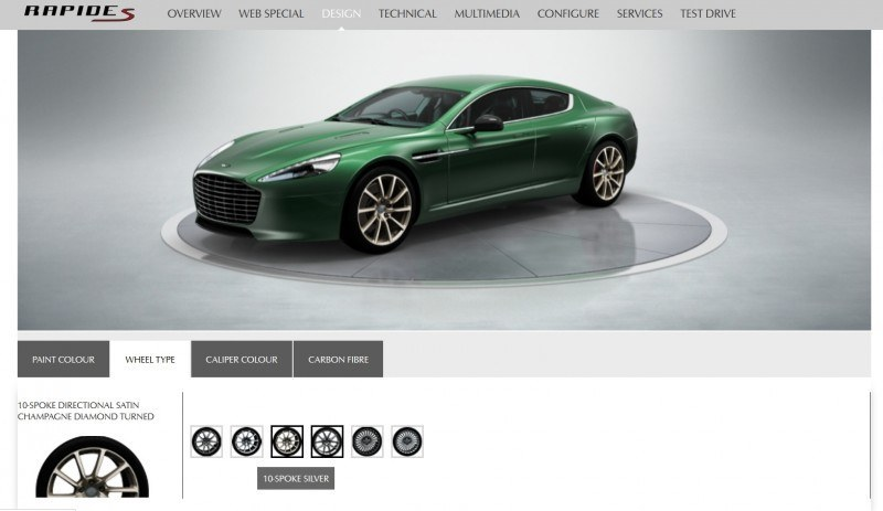 4.2s, 200-MPH 2015 Aston Martin RAPIDE S Also Nabs New Dampers, Torque-Tube and 8-Speed ZF Transaxle 22
