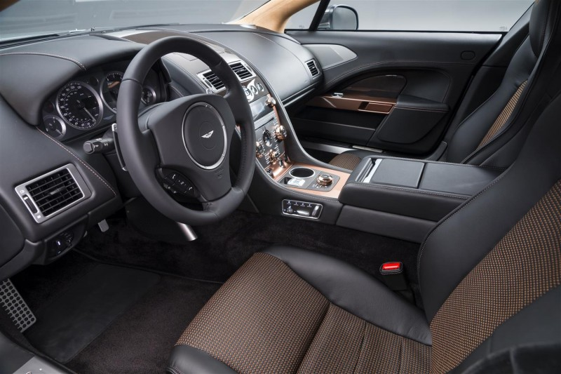 4.2s, 200-MPH 2015 Aston Martin RAPIDE S Also Nabs New Dampers, Torque-Tube and 8-Speed ZF Transaxle 6