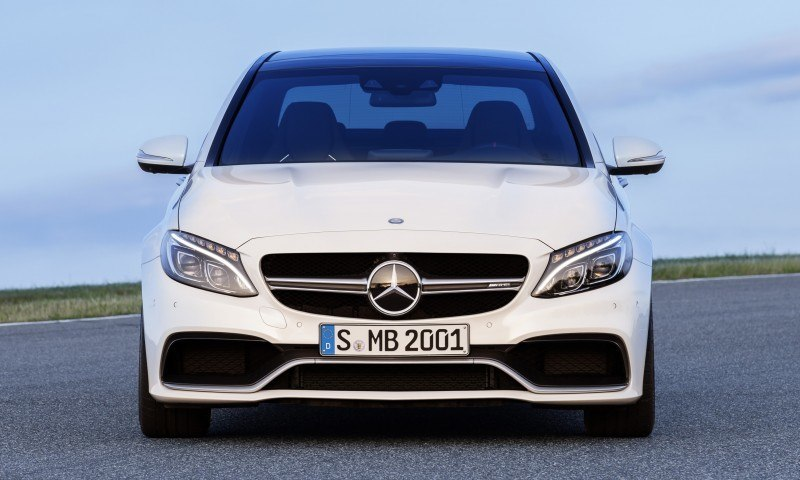 510HP, 3.9s 2015 Mercedes-AMG C63 S Joings New C63 - Without the Benz Name 3
