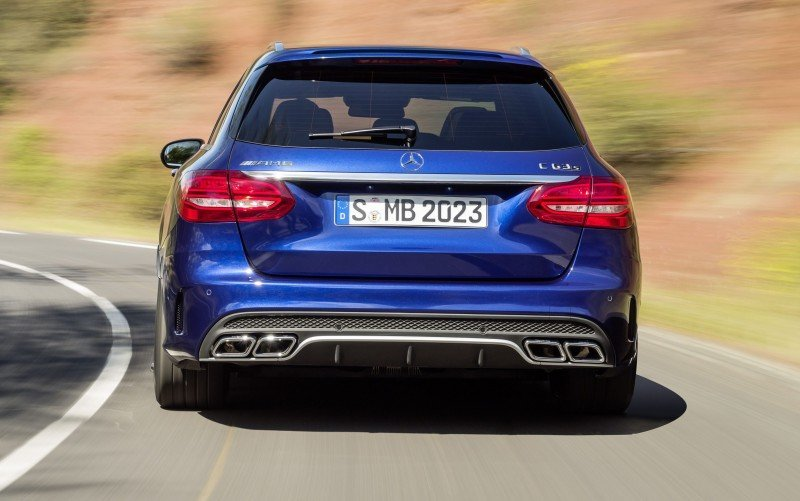 510HP, 3.9s 2015 Mercedes-AMG C63 S Joings New C63 - Without the Benz Name 30