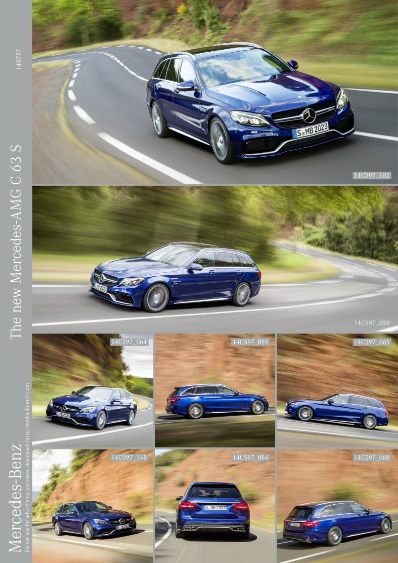 510HP, 3.9s 2015 Mercedes-AMG C63 S Joings New C63 - Without the Benz Name 45
