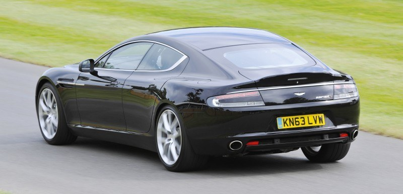 Aston Martin Zings Up Goodwood Hill (to its AMG Future) in Vantage S, Rapide S and Vanquish 16