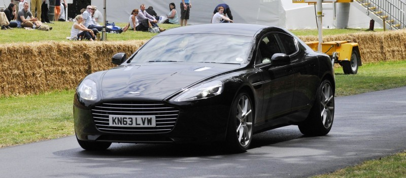 Aston Martin Zings Up Goodwood Hill (to its AMG Future) in Vantage S, Rapide S and Vanquish 3