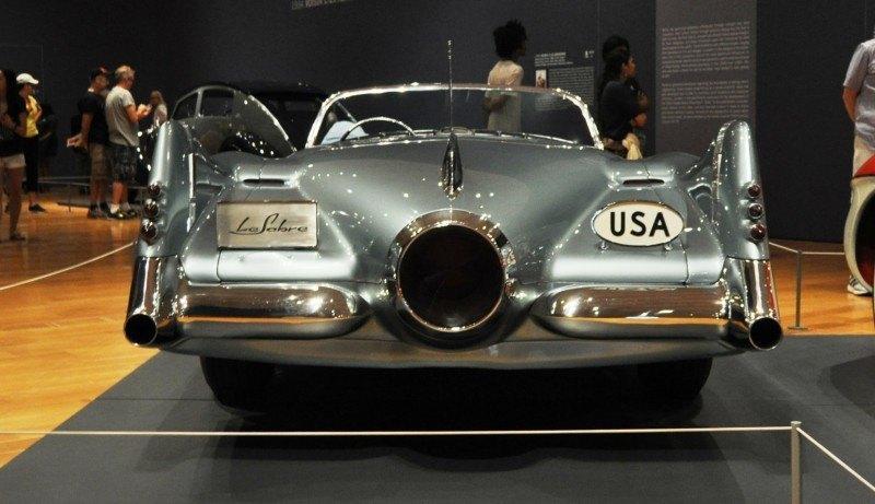 Atlanta Dream Cars - 1951 General Motors LeSabre XP-8 Struck Gold With Yank Tank Ethos of 1950s 15