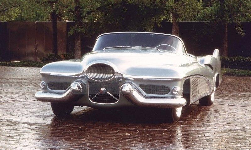 Atlanta Dream Cars - 1951 General Motors LeSabre XP-8 Struck Gold With Yank Tank Ethos of 1950s 5