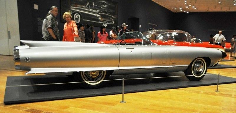 Atlanta Dream Cars Showcase - 1959 Cadillac Cyclone XP-74 Is Rocket Nose and Tailfin Bliss 16
