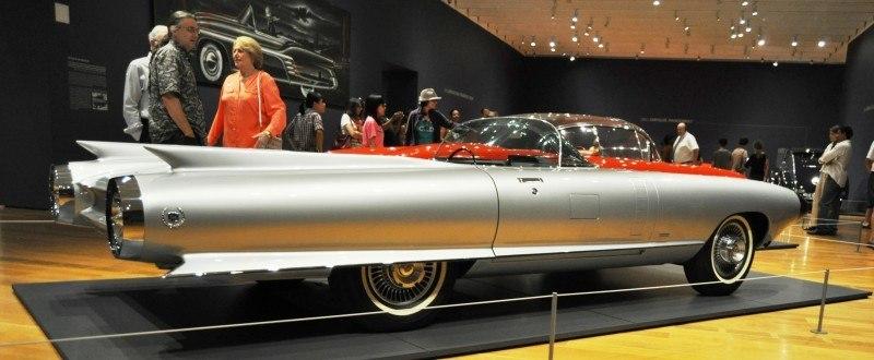 Atlanta Dream Cars Showcase - 1959 Cadillac Cyclone XP-74 Is Rocket Nose and Tailfin Bliss 17