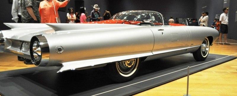 Atlanta Dream Cars Showcase - 1959 Cadillac Cyclone XP-74 Is Rocket Nose and Tailfin Bliss 18