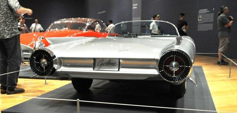 Atlanta Dream Cars Showcase - 1959 Cadillac Cyclone XP-74 Is Rocket Nose and Tailfin Bliss 21