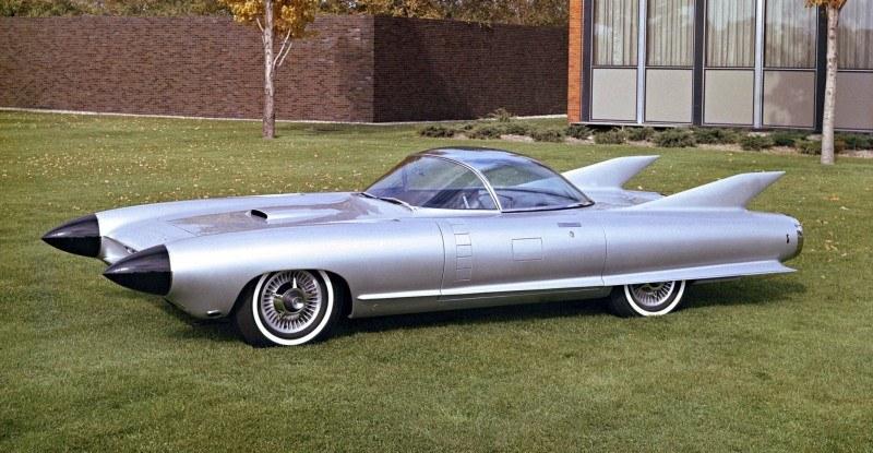 Atlanta Dream Cars Showcase - 1959 Cadillac Cyclone XP-74 Is Rocket Nose and Tailfin Bliss 3