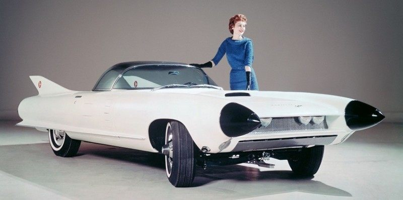 Atlanta Dream Cars Showcase - 1959 Cadillac Cyclone XP-74 Is Rocket Nose and Tailfin Bliss 4