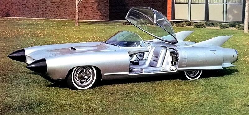 Atlanta Dream Cars Showcase - 1959 Cadillac Cyclone XP-74 Is Rocket Nose and Tailfin Bliss 7