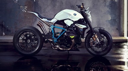 BMW Motorrad - Concept Roadster is Boxer Basics Motorcycle for Lake Cuomo 13