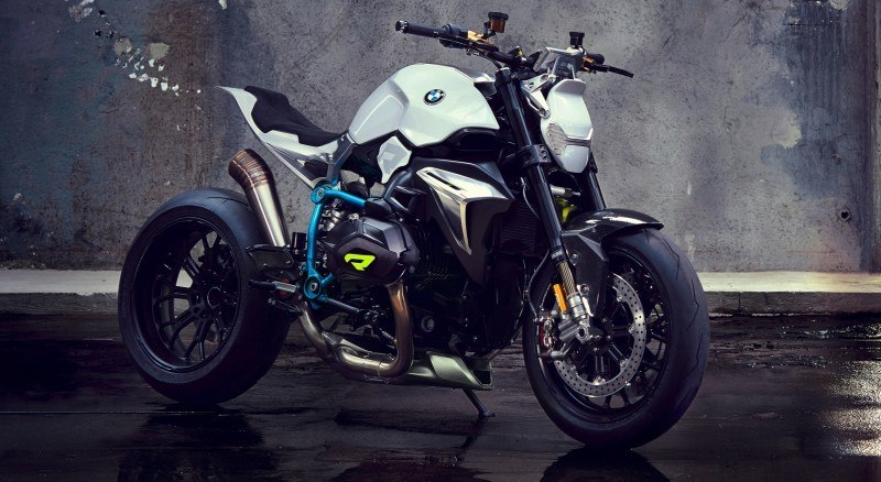 BMW Motorrad - Concept Roadster is Boxer Basics Motorcycle for Lake Cuomo 17