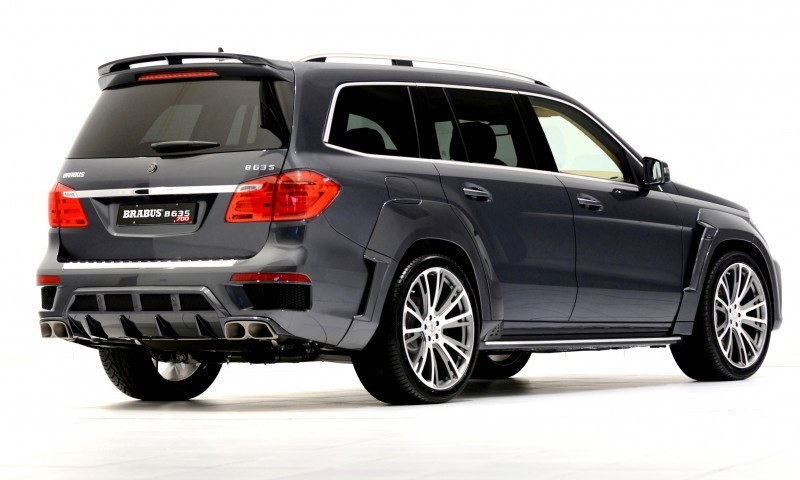 BRABUS B63S 700 Widestar Upgrades for Mercedes-Benz GL-Class Are Ready for Hollywood A-List 2