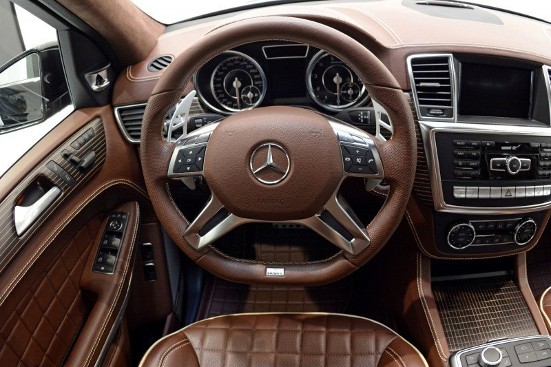 BRABUS B63S 700 Widestar Upgrades for Mercedes-Benz GL-Class Are Ready for Hollywood A-List 42
