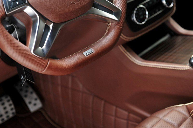 BRABUS B63S 700 Widestar Upgrades for Mercedes-Benz GL-Class Are Ready for Hollywood A-List 45