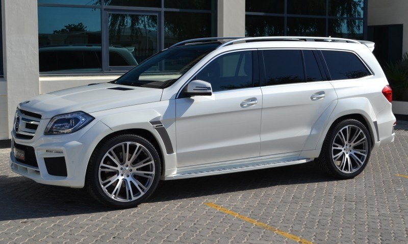 BRABUS B63S 700 Widestar Upgrades for Mercedes-Benz GL-Class Are Ready for Hollywood A-List 50