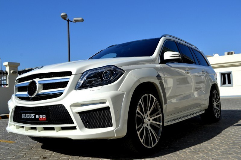 BRABUS B63S 700 Widestar Upgrades for Mercedes-Benz GL-Class Are Ready for Hollywood A-List 55