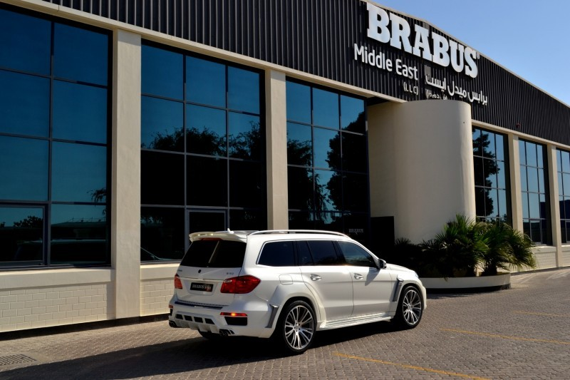 BRABUS B63S 700 Widestar Upgrades for Mercedes-Benz GL-Class Are Ready for Hollywood A-List 57