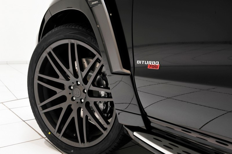 BRABUS B63S 700 Widestar Upgrades for Mercedes-Benz GL-Class Are Ready for Hollywood A-List 65