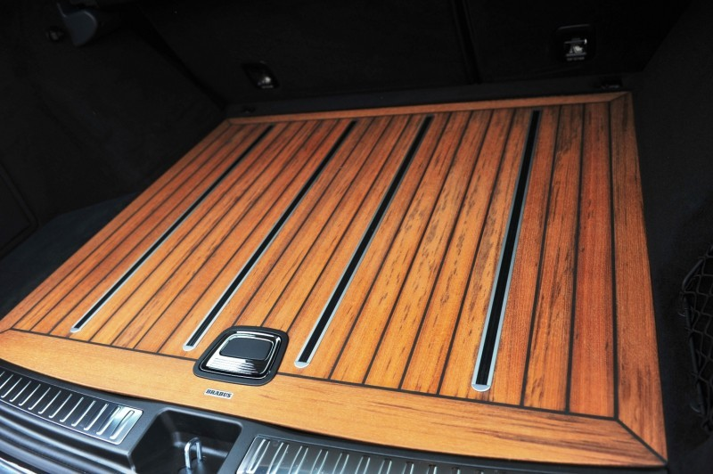 BRABUS Custom Interiors for the Mercedes-Benz ML-Class SUV 25