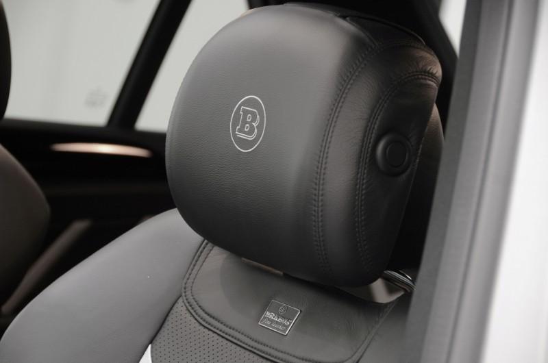 BRABUS Custom Interiors for the Mercedes-Benz ML-Class SUV 43