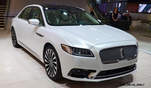 Best of NAIAS - 2017 Lincoln CONTINENTAL Limo 43